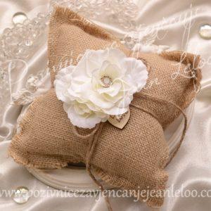Jastuk za prstenje Natur